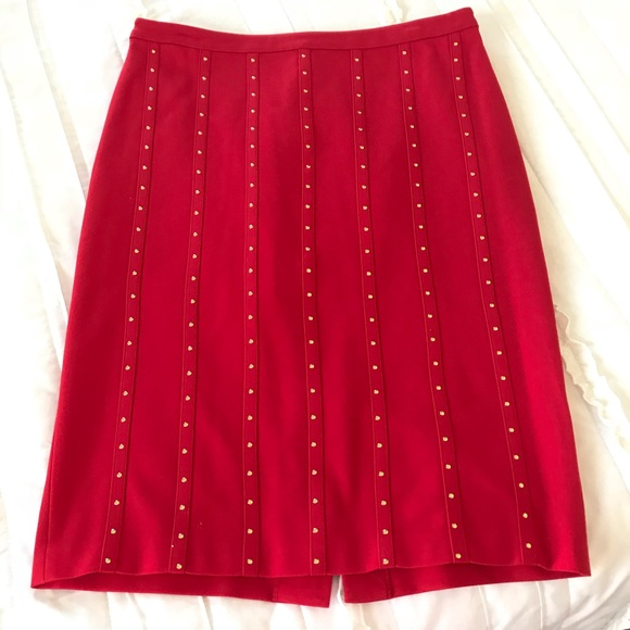 Calvin Klein Dresses & Skirts - Calvin Klein studded pencil skirt NWOT